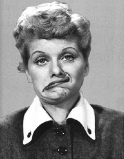 lucille ball tv sitcom comedian 1950s