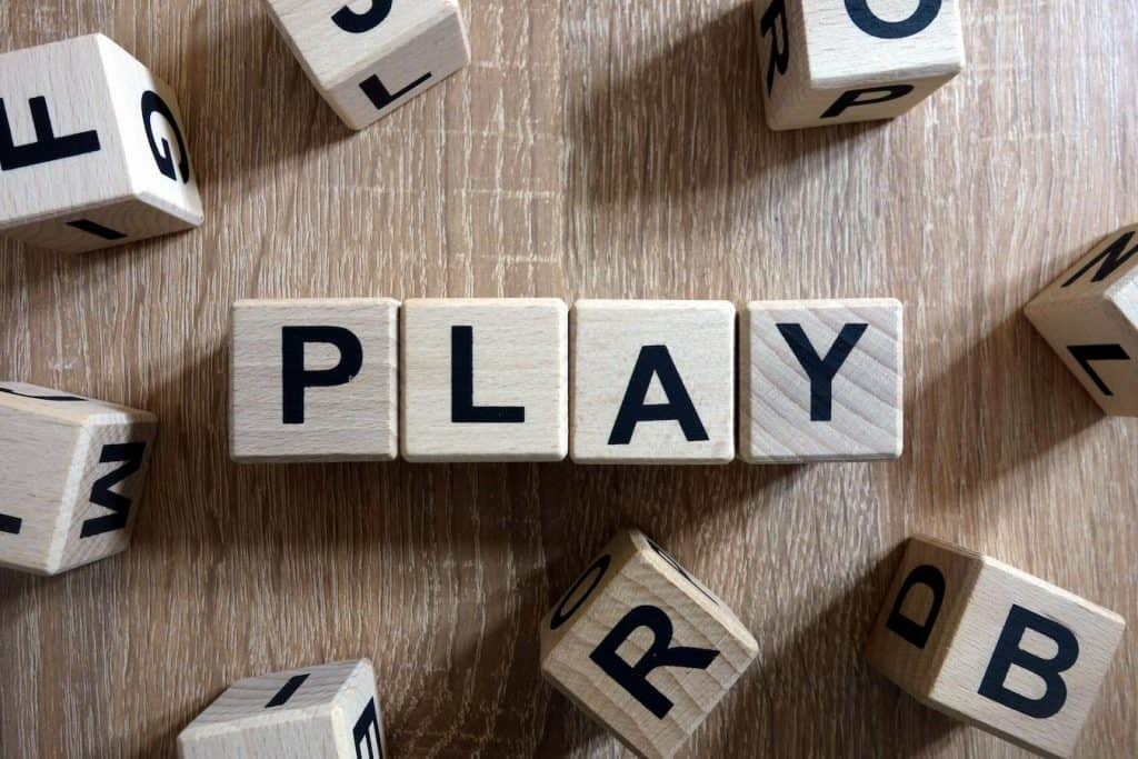 play with you words not your food