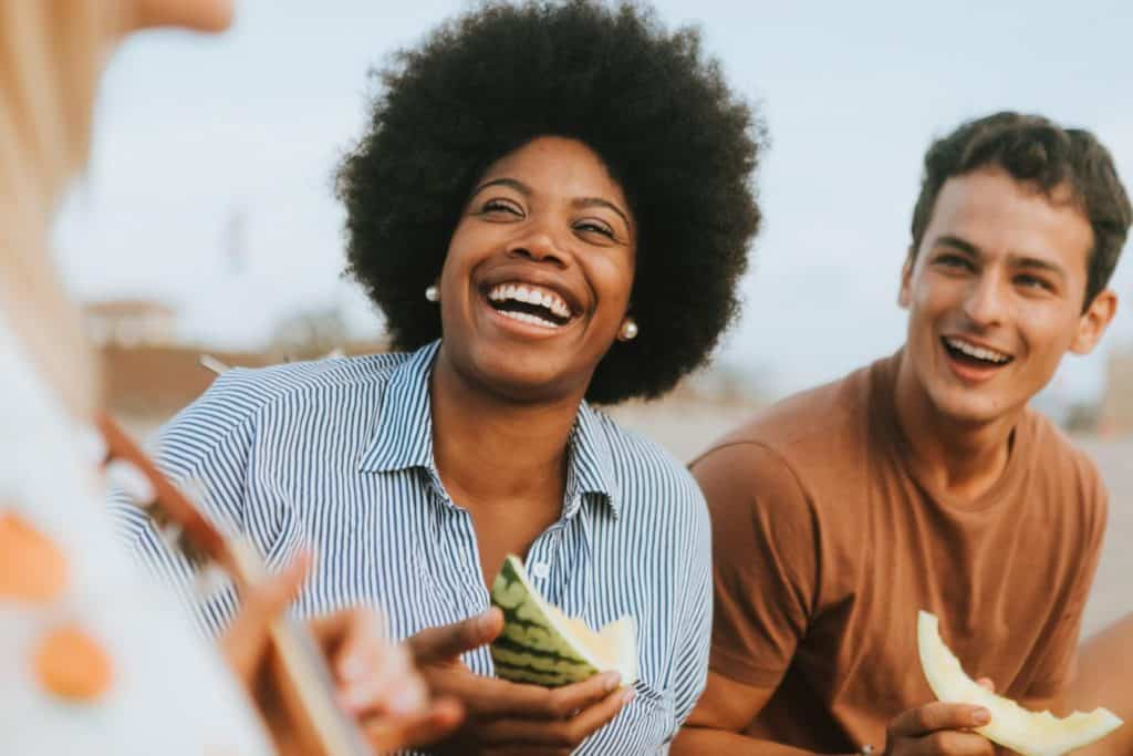 Laughing and burning calories may improve overall health