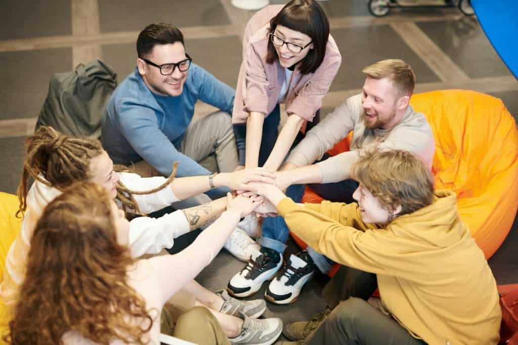 Break the ice between employees with a team building exercise