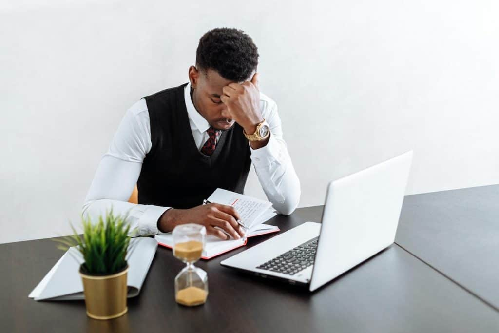Low employee morale may be due to low productivity in the office